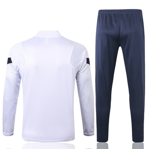 France 20/21 Drill Tracksuit White B391#