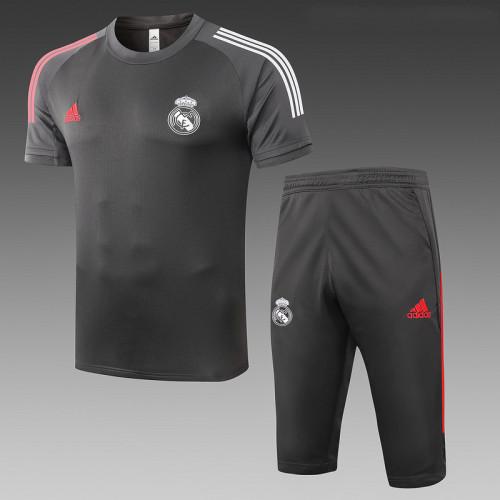 Real Madrid 20/21 Drill Kits Dark Grey D516#