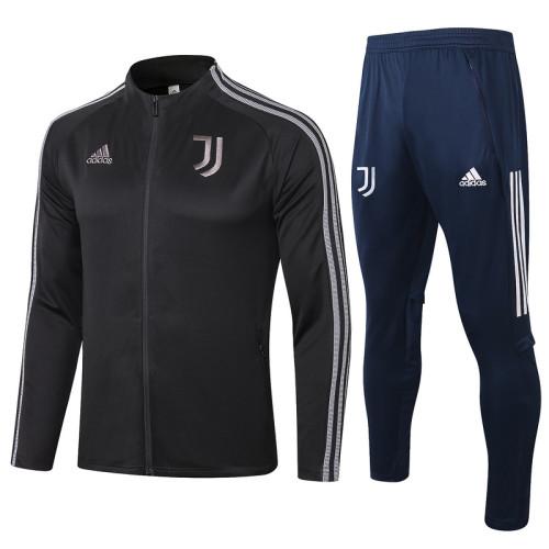 Juventus 20/21 Jacket Tracksuit Black A358#