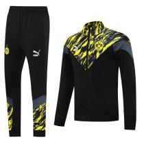 Borussia Dortmund 21/22 Jacket Tracksuit Black CX12