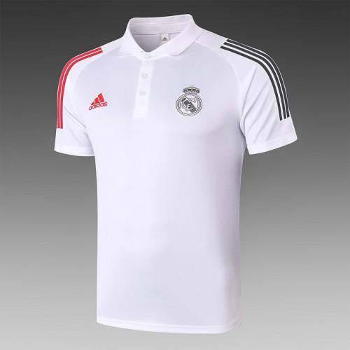 Real Madrid 20/21 Pre-Match Polo Kit White C512#