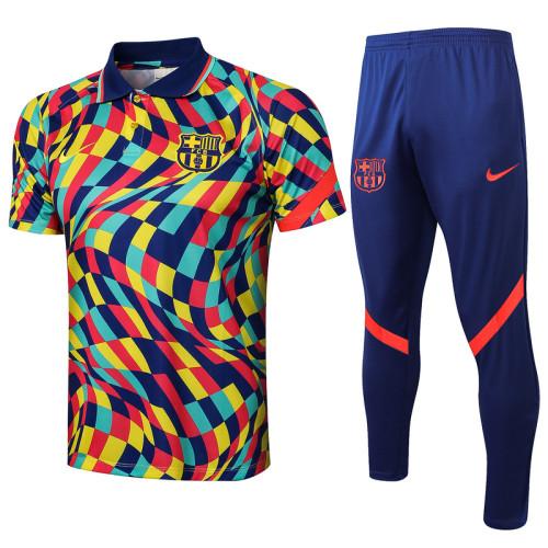 Barcelona 21/22 Pre-Match Polo Kit Colour C624#