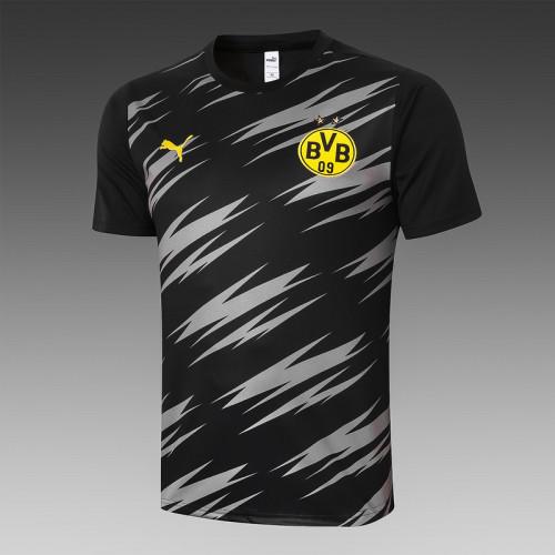 Borussia Dortmund 20/21 Training Kit Black C563#