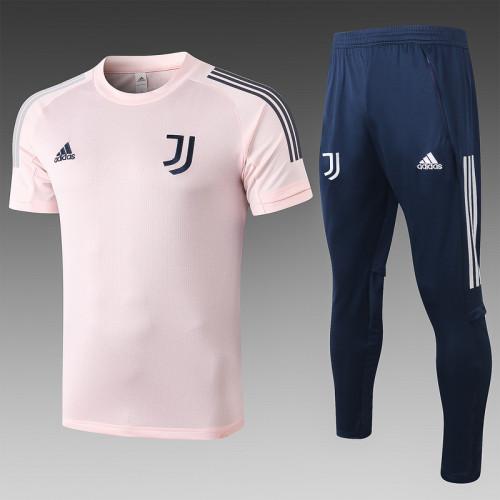 Juventus 20/21 Training Kit Pink C505#