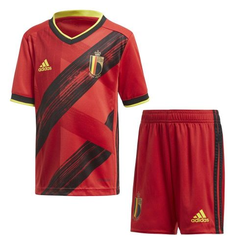 Belgium 2021 Home Soccer Jersey and Short Kit