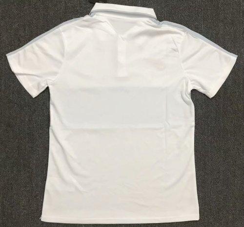Paris Saint-Germain 21/22 Pre-Match Polo Shirt White