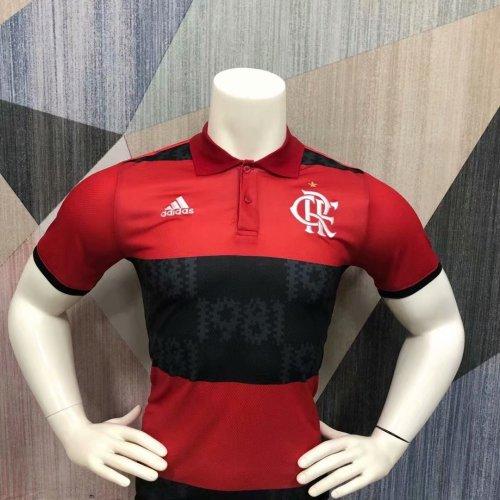 Flamengo 2021 Pre-Match Polo Shirt Red