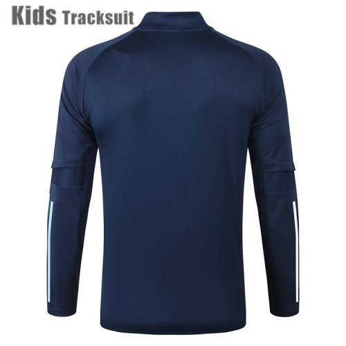 Kids TOT 20/21 Drill Tracksuit Navy E467#