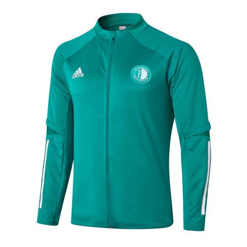 Feyenoord Rotterdam 20/21 Jacket Tracksuit Green A379#