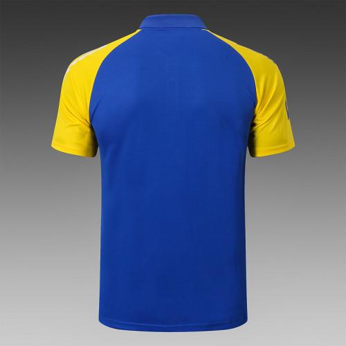 Boca Juniors 2020 Pre-Match Polo Kit Bright Blue C605#