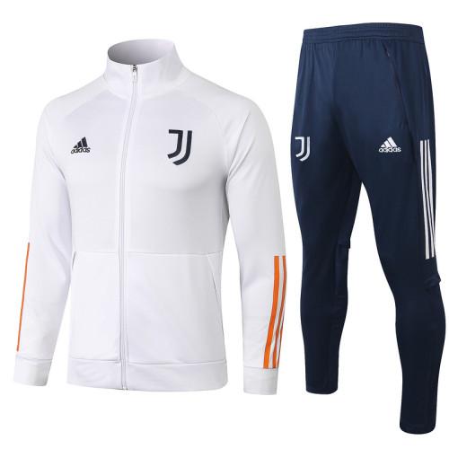 Juventus 20/21 Jacket Tracksuit White A404#