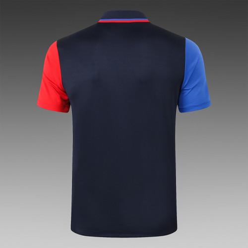 Barcelona 20/21 Pre-Match Polo Kit Black C565#