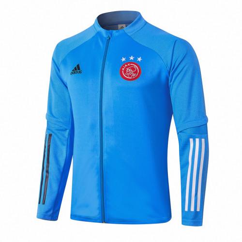 Ajax 20/21 Jacket Tracksuit Light Blue A360#
