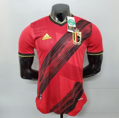 Player Version Belgium 2021 Home Authentic Jersey