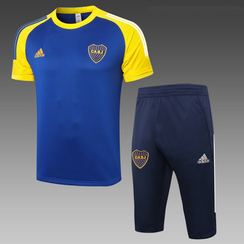 Boca Juniors 20/21 Drill Kits Bright Blue D597#