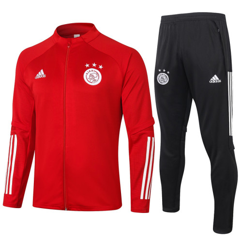 Ajax 20/21 Jacket Tracksuit Red A386#