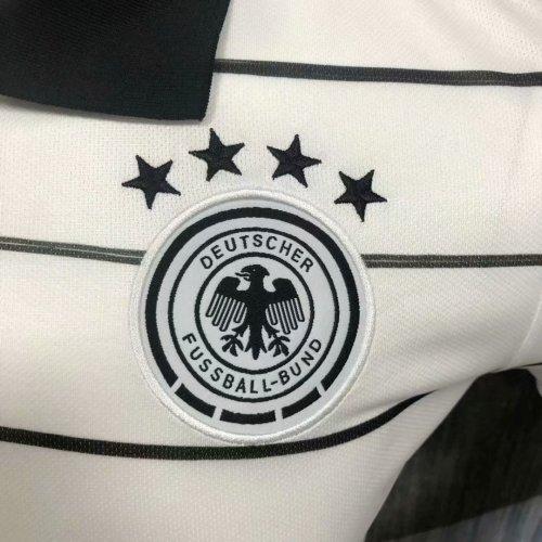 Germany 2021 Pre-Match Polo Shirt White