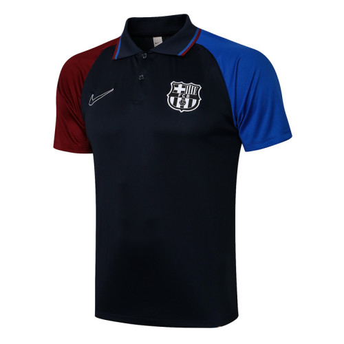 Paris Saint-Germain 21/22 Pre-Match Polo Kit Navy C623#