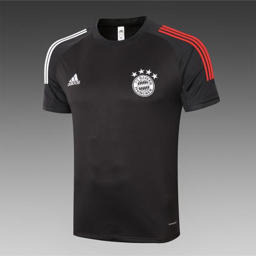 Bayern Munich 20/21 Training Kit Black C533#