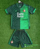 Kids Feyenoord Rotterdam 21/22 Special Jersey and Short Kit