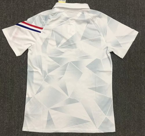 Netherlands 2021 Pre-Match Polo Shirt White