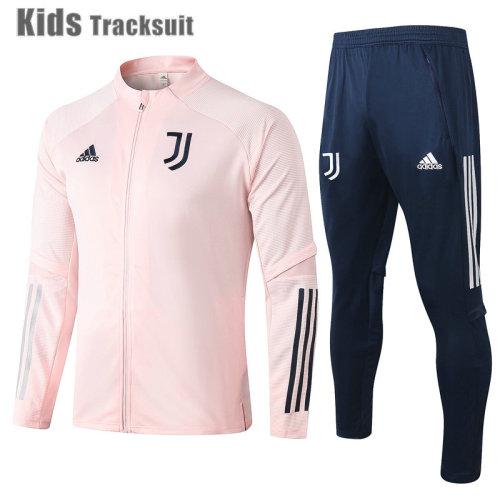 Kids Juventus 20/21 Jacket Tracksuit Pink E476#