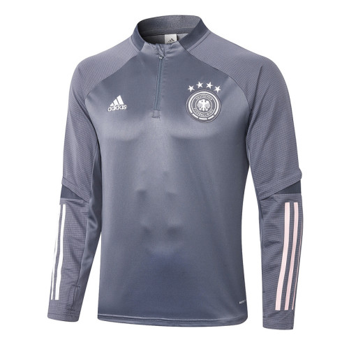 Germany 20/21 Drill Tracksuit Dark Grey B381#