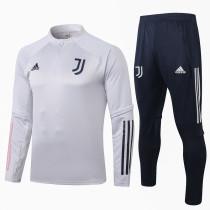 Juventus 20/21 Drill Tracksuit Light Grey B397#