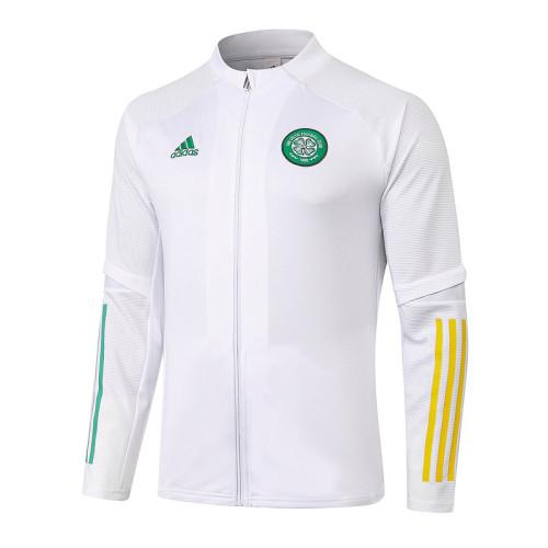 Celtic 20/21 Jacket Tracksuit White A391#