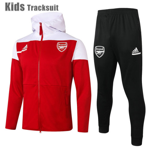 Kids ARS 20/21 Hoodie Tracksuit Red E500#