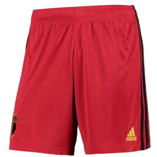 Thai Version Belgium 2021 Home Soccer Shorts