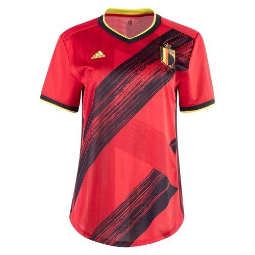 Thai Version Belgium 2021 Women's Home Soccer Jersey