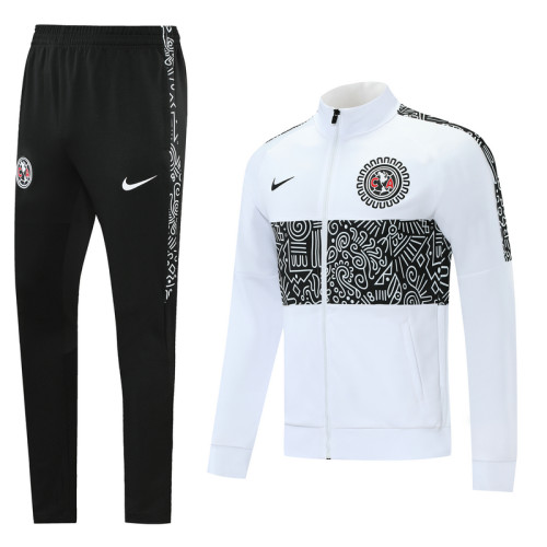 Club América 21/22 Jacket Tracksuit White CX01