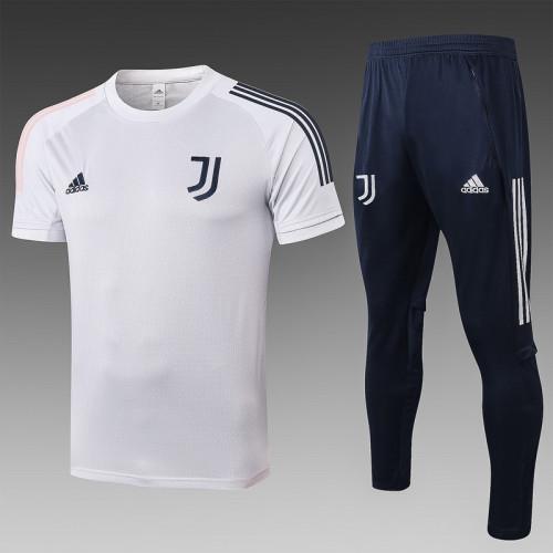 Juventus 20/21 Training Kit Light Grey C496#