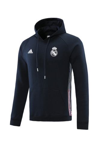Real Madrid 21/22 Training Hoodie Navy