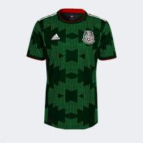 Thai Version Mexico 2021 Home Soccer Jersey -Green