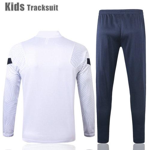 Kids France 2021 Drill Tracksuit White E442#