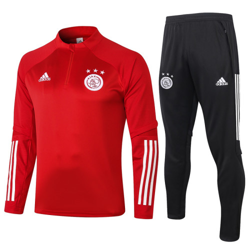 Ajax 20/21 Drill Tracksuit Red B421#