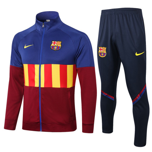 Barcelona 20/21 Jacket Tracksuit Bright and Red A341#