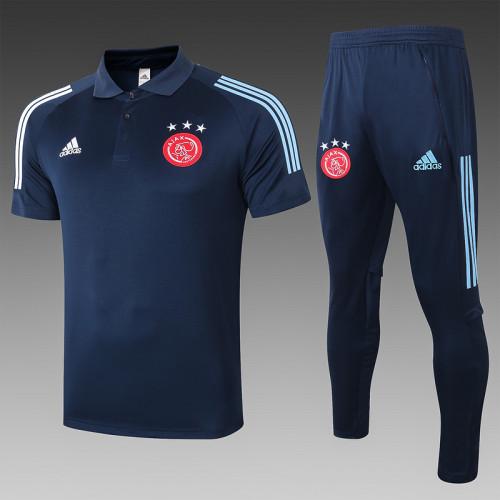 Ajax 20/21 Pre-Match Polo Kit Navy C526#