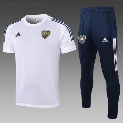 Boca Juniors 2020 Training Kit White C571#