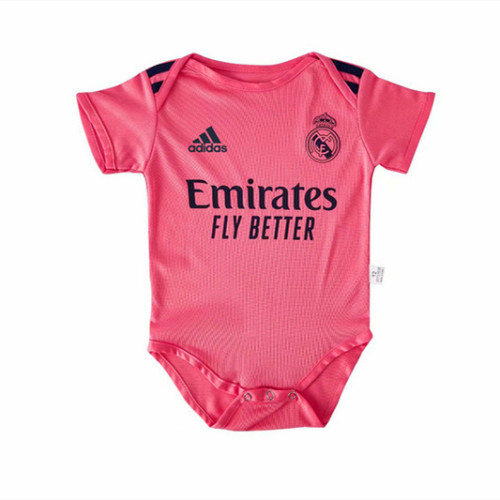 Real Madrid 20/21 Infant Rompers-Red