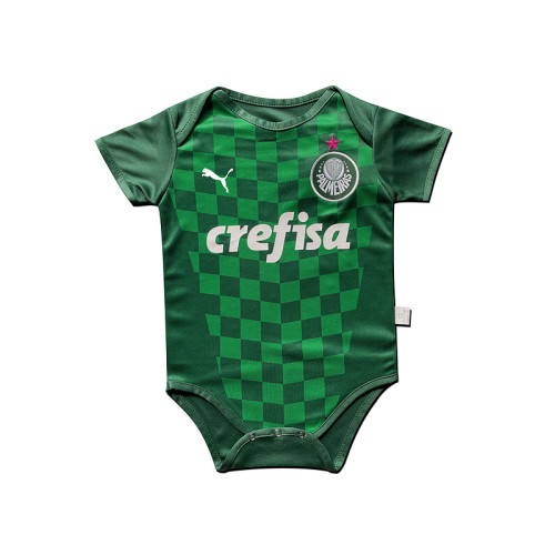 Palmeiras 2021 Infant Rompers-Green