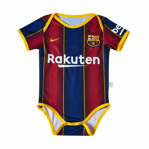 Barcelona 20/21 Infant Rompers-Red and Blue
