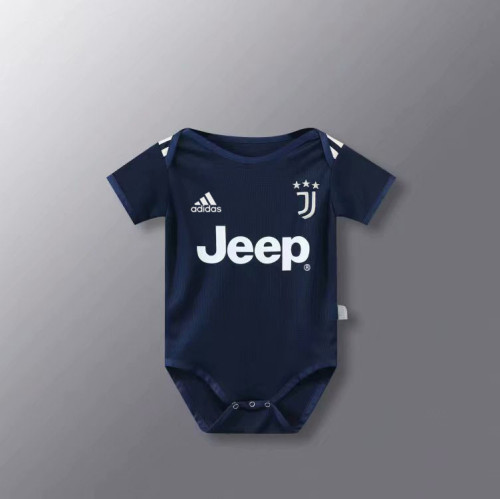 Juventus 20/21 Infant Rompers-Navy