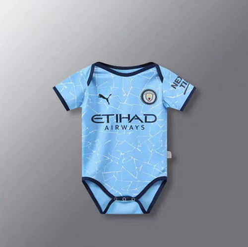 Manchester City 20/21 Infant Rompers