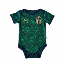 Italy 2021 Infant Rompers-Green
