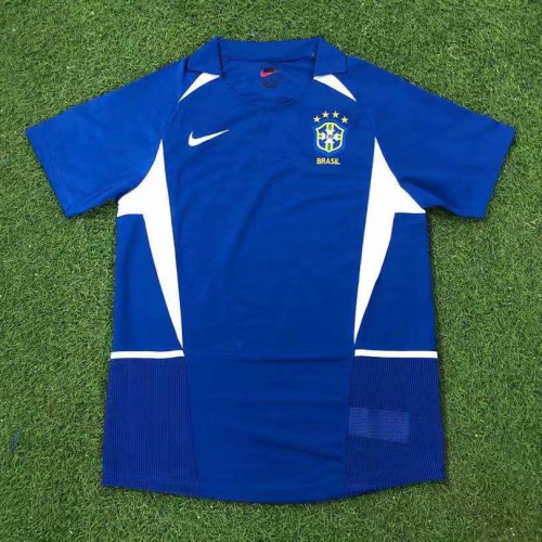 Brazil 2002-2004 Home Retro Jersey
