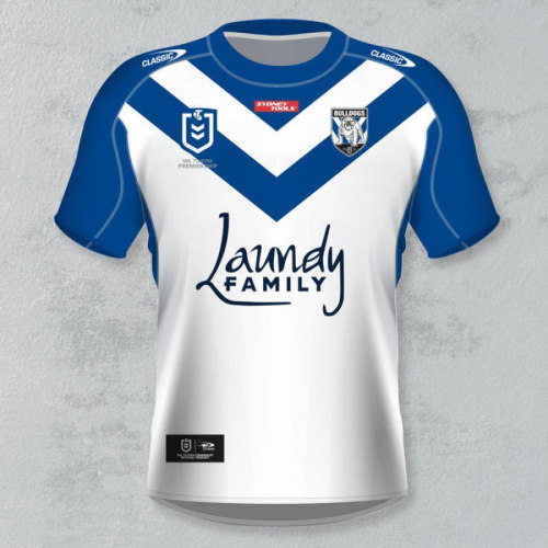 Canterbury-Bankstown Bulldogs 2021 Men's Home Rugby Jersey