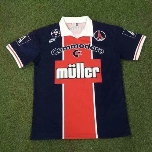 Paris Saint-Germain 1991/92 Home Retro Jersey